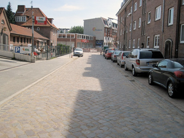 Bergedorf Süd Quartierstraßen 1. Abschnitt
